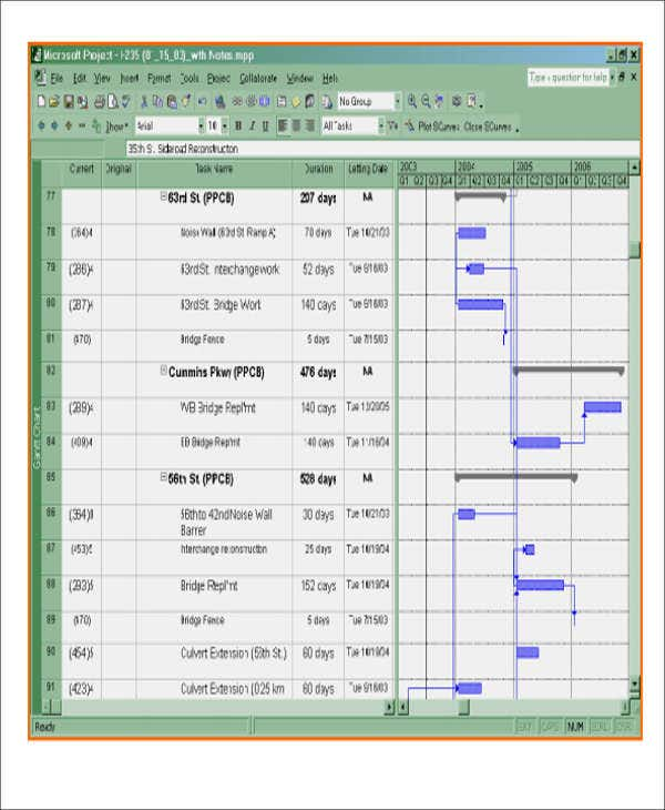 13  excel construction schedule templates