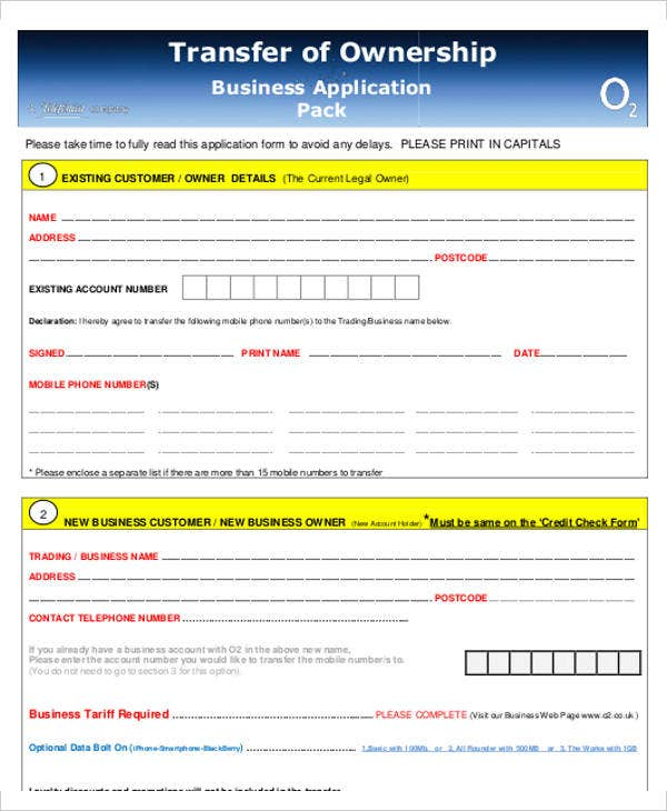 business ownership transfer letter template
