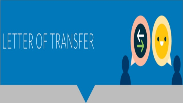 6 location transfer letter templates