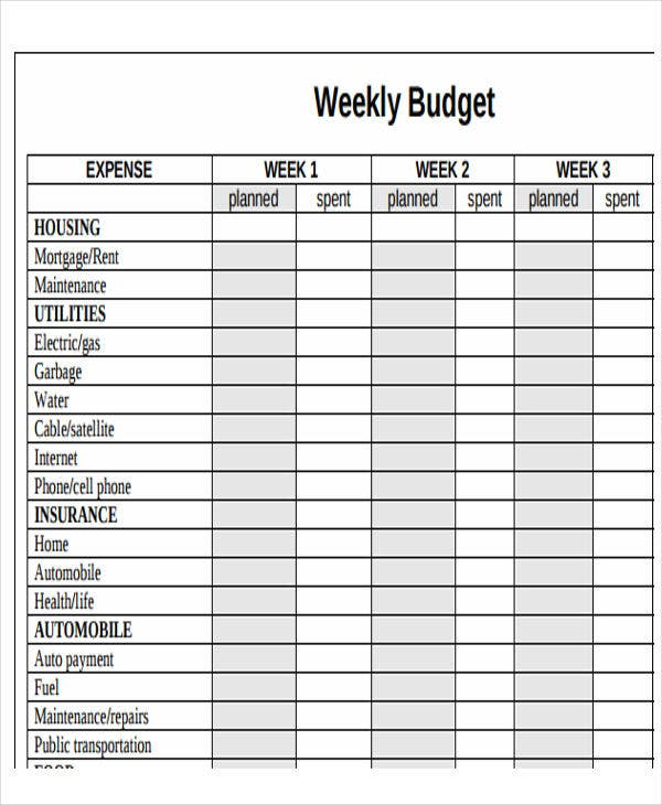 image relating to Budget Calendar Printable called 11+ Pattern Spending budget Calendar Templates - Term, Webpages Absolutely free