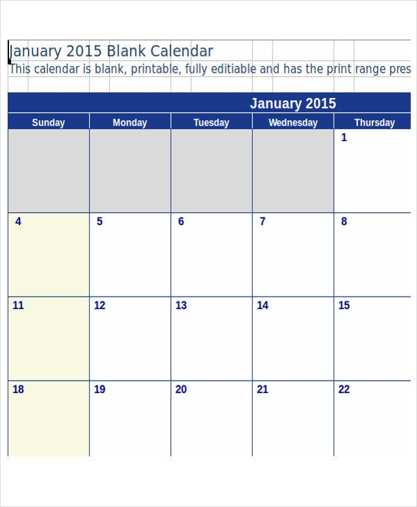 photo about Budget Calendar Printable named 11+ Pattern Spending budget Calendar Templates - Phrase, Web pages No cost