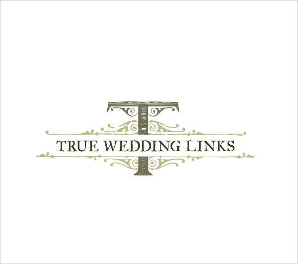 professional wedding service logo