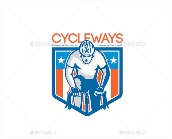 Bicycle Helmet Logo