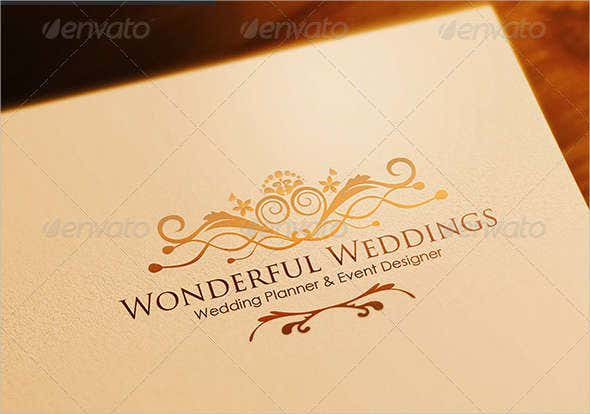 wedding planner logo for company