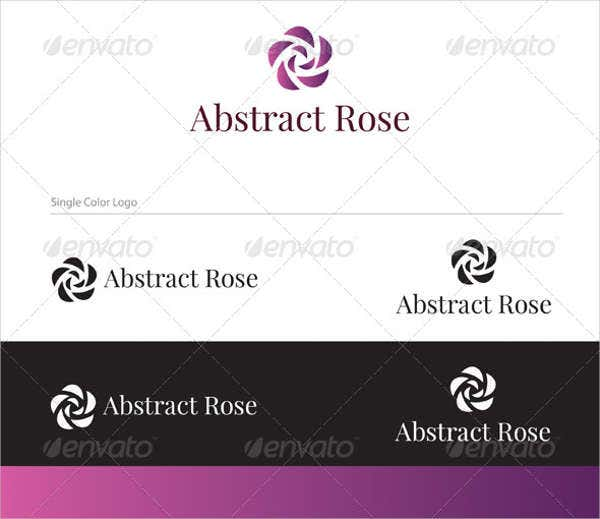 abstract wedding planner logo