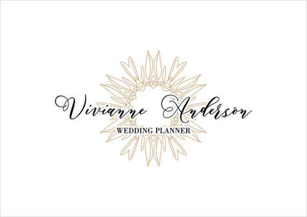 Luxury Wedding Planner Logo