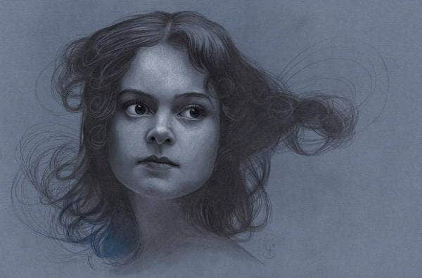Girl Portrait Drawing