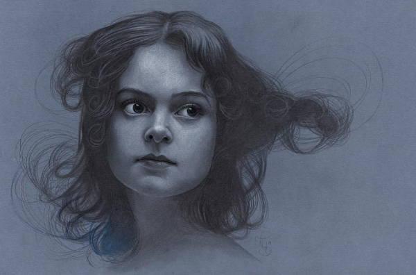 Girl Portrait Drawing