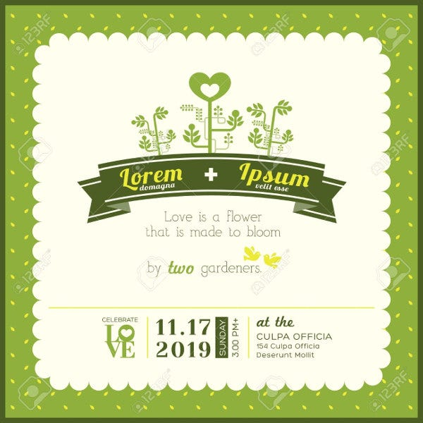 garden-wedding-invitation-card