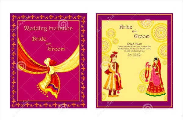 10  wedding invitation card templates