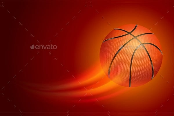 Vector Basketball Card Template