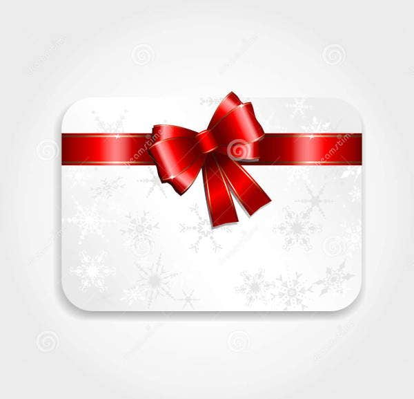 holiday christmas gift card