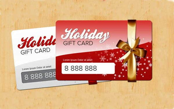 unique holiday gift card1