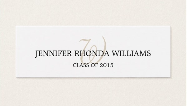 graduationnamecard
