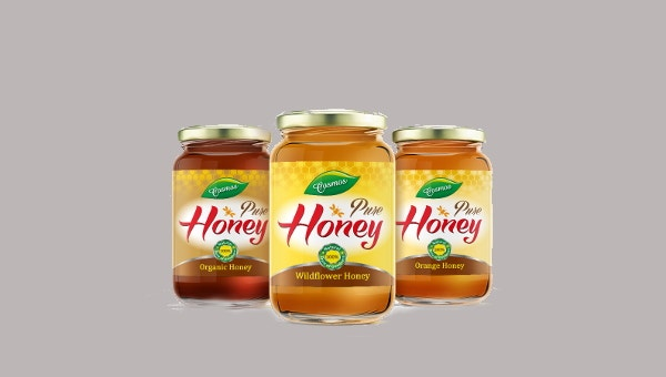 honeyjarlabels