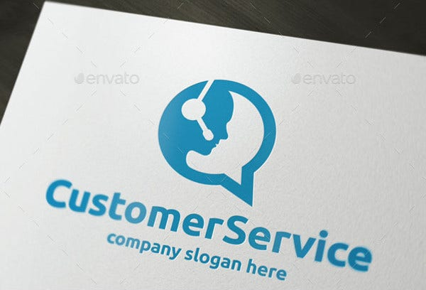 customer service care logo