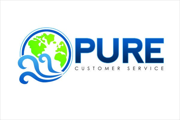 Free Customer Service Logo