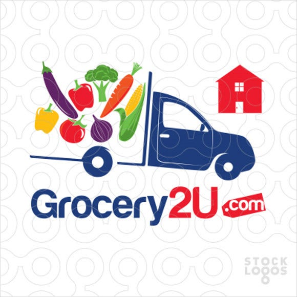 grocery delivery service logo1