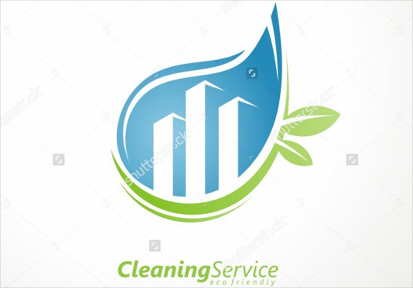 Corporate Cleaning Service Logo