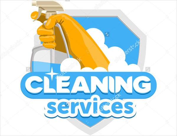 9+ Cleaning Service Logos - Editable PSD, AI, Vector EPS ...