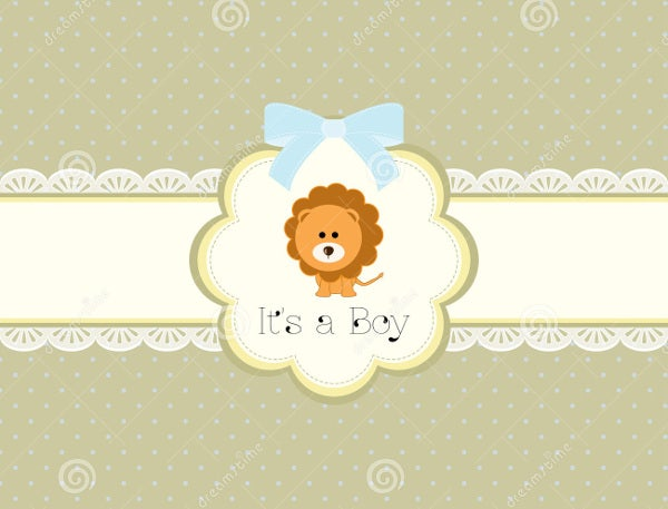 funny baby shower gift card