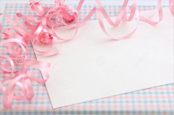 Baby Girl Shower Gift Card