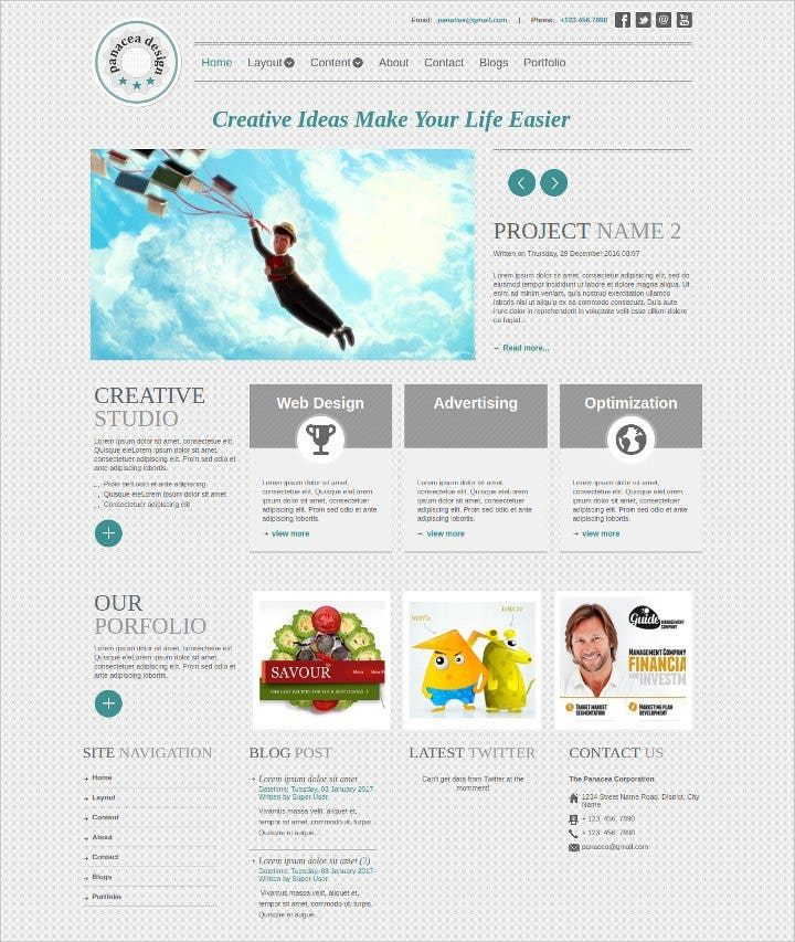 responsive corporate joomla template1