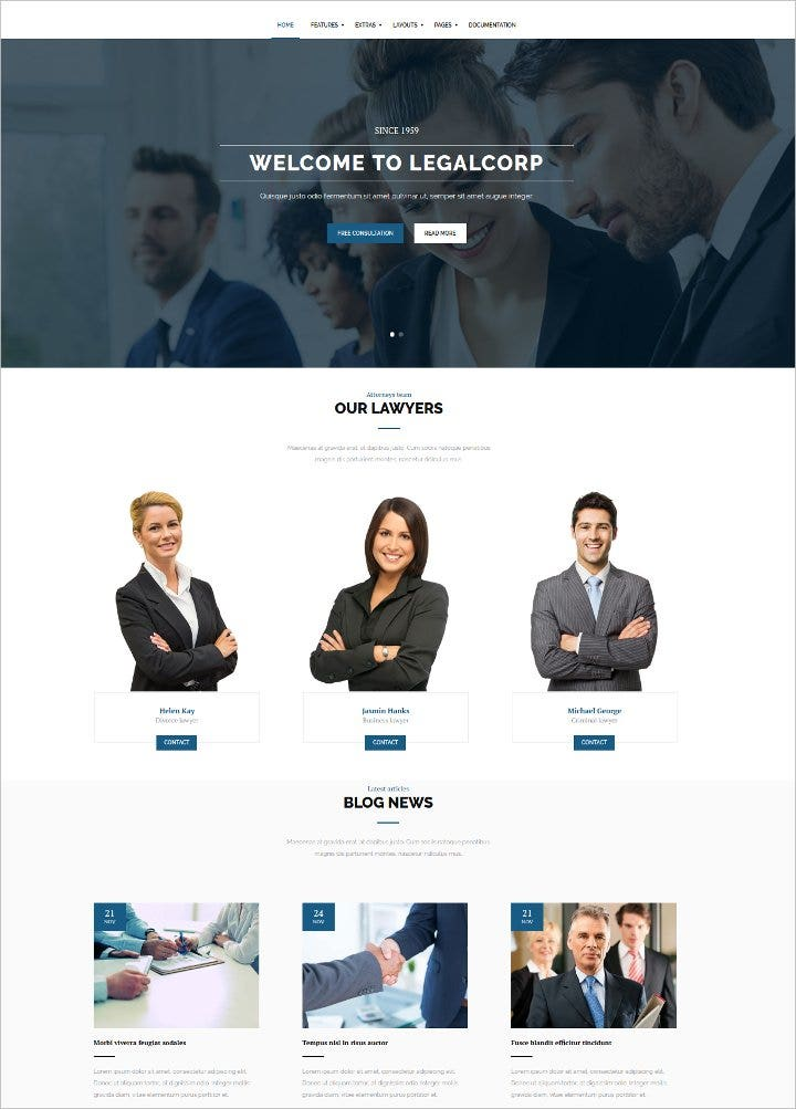 attorney law firm joomla template1