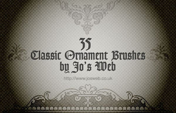 Photoshop Ornament Brushes
