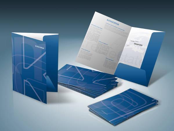Branding Presentation Folder Mockup