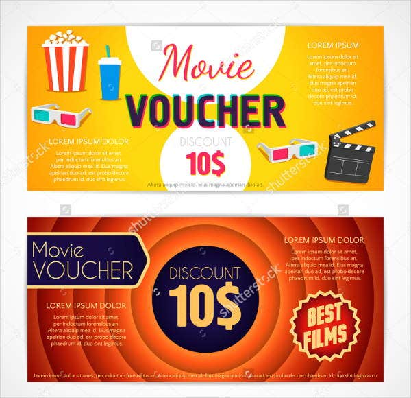 discount movie voucher template