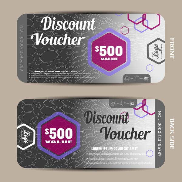 printable discount voucher template