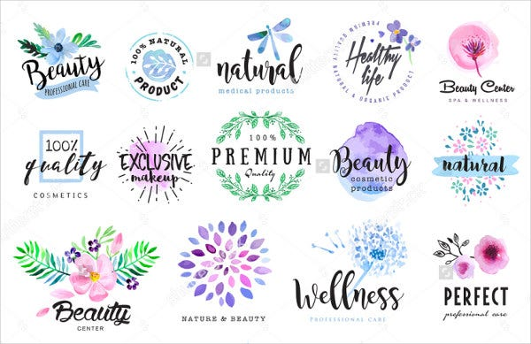 vector-beauty-product-labels-set