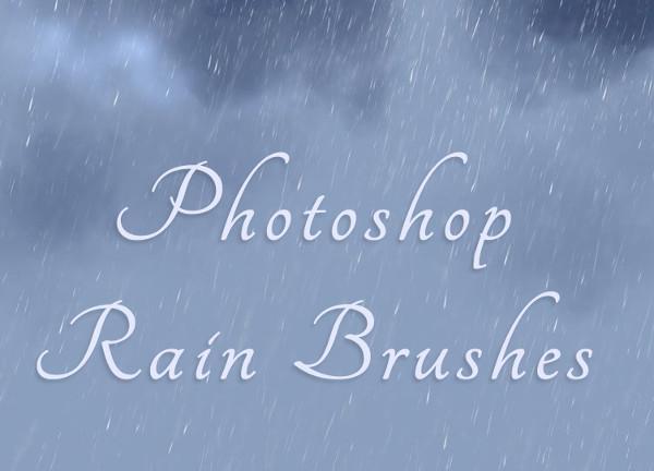 Free PS Rain Brushes