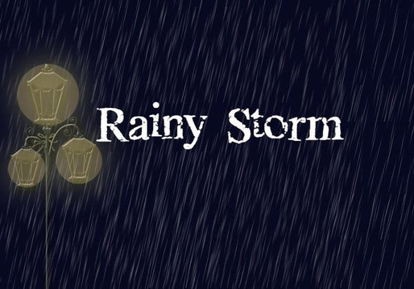 Rain Storm Brushes
