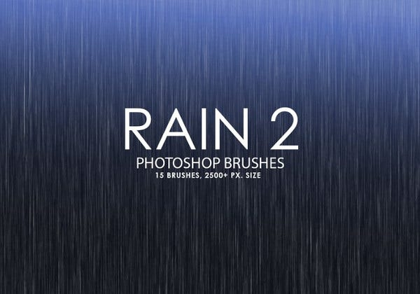 Rain Water Brushes