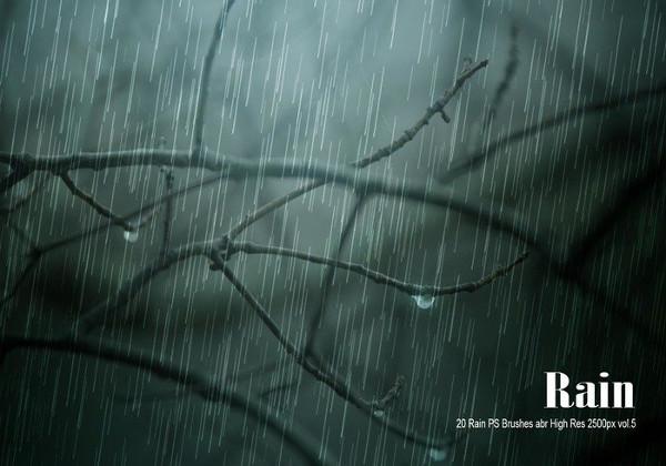 Heavy Rain Brushes