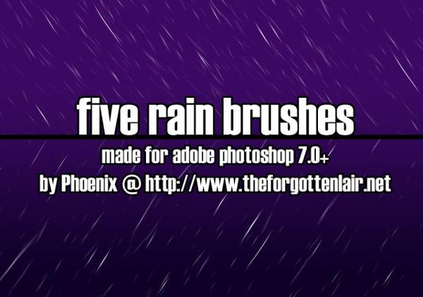 Rain Drop Brushes