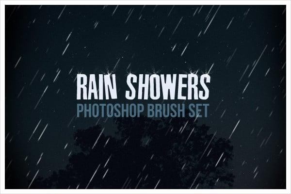Rain Shower PS Brushes Set