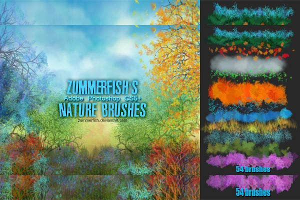 High-Quality PS Nature Brushes