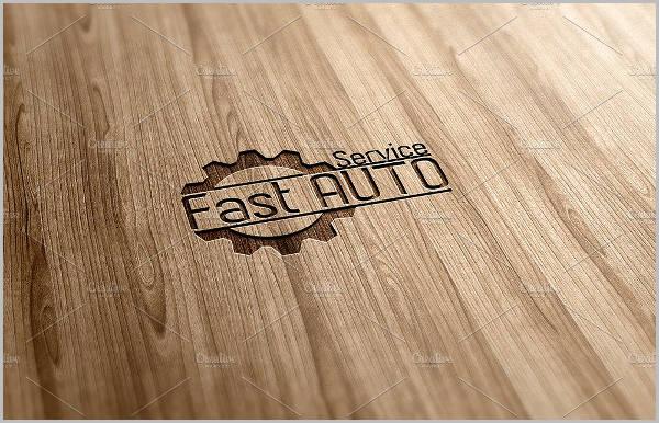 auto service psd logo