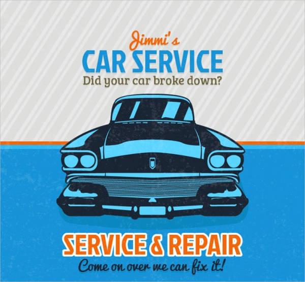 free printable auto service logo