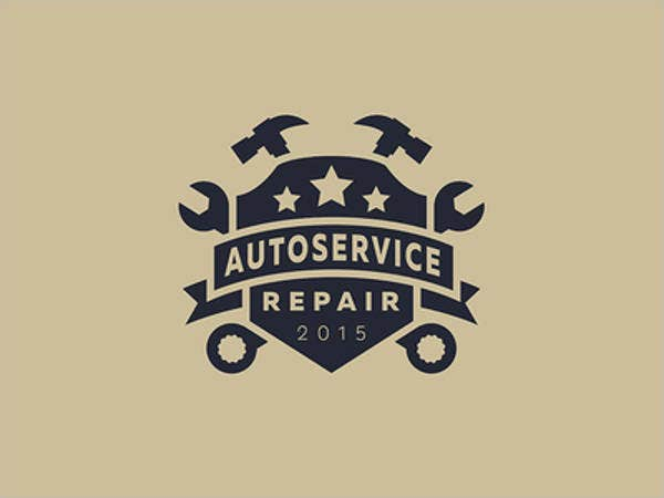 auto service workshop logo