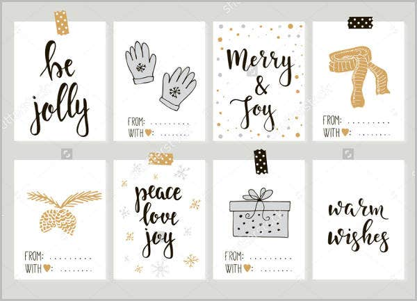 printable vintage gift card template