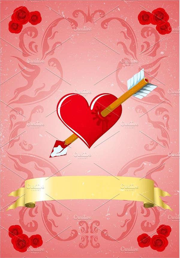 vintage-valentine-gift-card-template