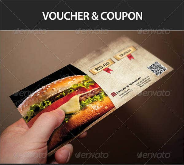 13+ Dinner Voucher Templates - PSD, Ai, EPS, Word