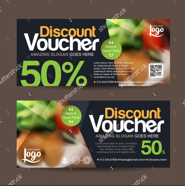 hotel deals voucher template