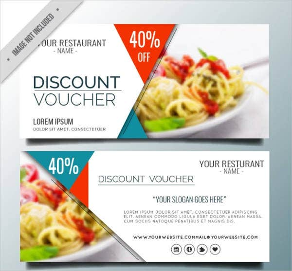 Dinner Voucher Templates  Free Psd Vector Ai Eps Format
