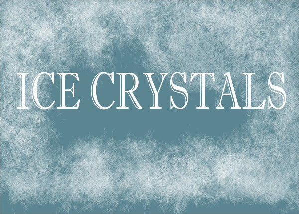 Ice Crystal Brushes