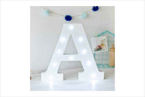 Printable Decorative Alphabet Letters
